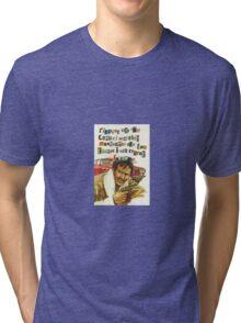 MustacheGracias Tri-blend T-Shirt