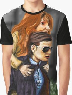 Karen Gillan and Matt Smith Graphic T-Shirt