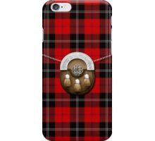 Clan Ramsay Tartan And Sporran iPhone Case/Skin