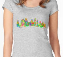 Houston Texas USA Women's Fitted Scoop T-Shirt