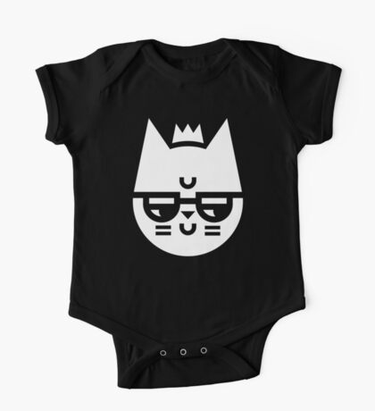 Cynical Cat One Piece - Short Sleeve