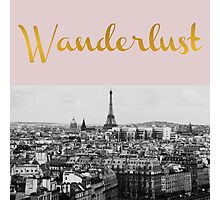 Wanderlust (Paris) Photographic Print
