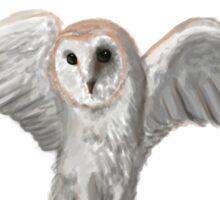 Owl Graduation Illustration Sticker