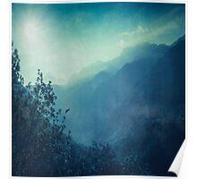 Mountain Blues Poster