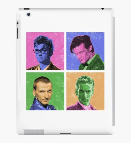 DR WARWHOL iPad Case/Skin