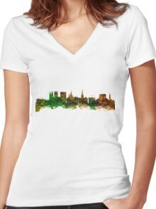 York England Women's Fitted V-Neck T-Shirt