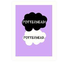 Potterhead - TFIOS  Art Print