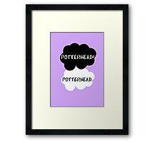 Potterhead - TFIOS  Framed Print