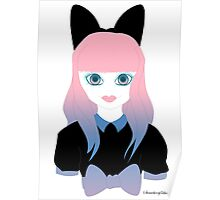 Doll Face Peach Poster