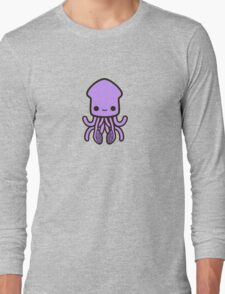 Cute purple squid Long Sleeve T-Shirt
