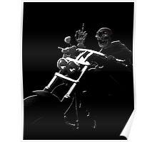 Skull Biker Poster