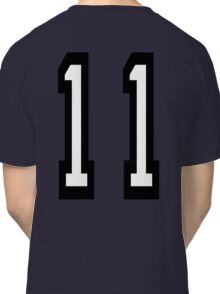 11, TEAM SPORTS, NUMBER 11, Eleven, Eleventh, Competition Classic T-Shirt