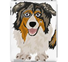 Funny Cool Australian Shepherd Dog Art iPad Case/Skin