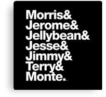 The Original 7ven Morris Day Jimmy Jam Merch Canvas Print