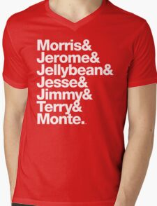 The Original 7ven Morris Day Jimmy Jam Merch Mens V-Neck T-Shirt