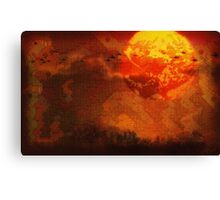 Heart of Deep Darkness - Earthbound / Mother 2 / Apocalypse Now / Heart of Darkness Canvas Print