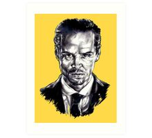 Moriarty (Andrew Scott) Art Print