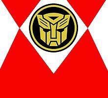 Mighty Morphin Autobot Rangers by hordak87