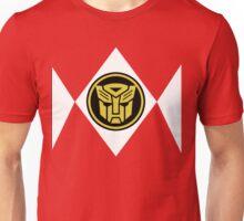 Mighty Morphin Autobot Rangers Unisex T-Shirt