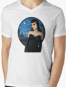 Selena Mens V-Neck T-Shirt