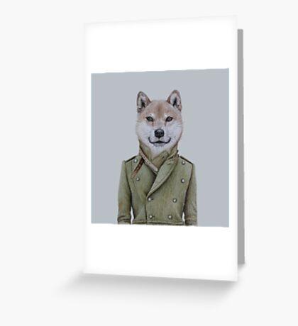 Shiba Inu guy Greeting Card