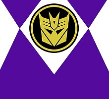 Mighty Morphin Decepticon Rangers by hordak87