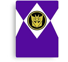 Mighty Morphin Decepticon Rangers Canvas Print