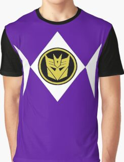 Mighty Morphin Decepticon Rangers Graphic T-Shirt