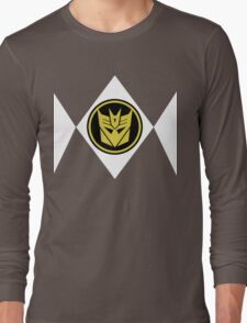 Mighty Morphin Decepticon Rangers Long Sleeve T-Shirt