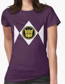 Mighty Morphin Decepticon Rangers Womens Fitted T-Shirt