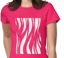 Pink Tiger Womens Fitted T-Shirt
