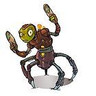 Alien warrior by Travis Hanson