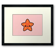 Cute starfish Framed Print
