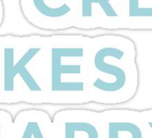 Ice Cream Makes Me Happy Sticker