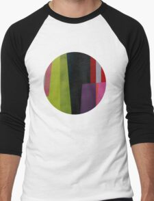 Geometrics#4 Men's Baseball ¾ T-Shirt