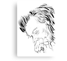 Harry Styles Drawing Portrait Canvas Print