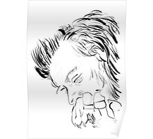 Harry Styles Drawing Portrait Poster