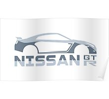 GTR sports car Poster