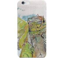 Iguana Know You iPhone Case/Skin