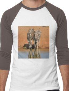 Zebras Men's Baseball ¾ T-Shirt