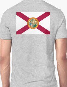 FLORIDA, American Flags, FLAG OF FLORIDA, Florida Flag, Pure & Simple, on Yellow Unisex T-Shirt