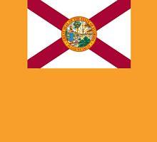 FLORIDA, American Flags, FLAG OF FLORIDA, Florida Flag, Pure & Simple on Yellow Unisex T-Shirt