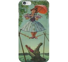 haunted mansion umbrela iPhone Case/Skin