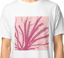 Original Minimalism Pink Colored Pencil Stroke Classic T-Shirt