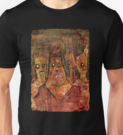 Zombies in a Red Dawn Apocalypse Unisex T-Shirt