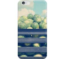 watermelons and clouds  iPhone Case/Skin