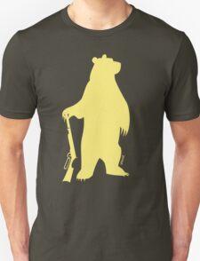 Armed Bear Icon - lemon T-Shirt