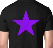 PURPLE, Star, on BLACK, Royalty, Royal, Bright Star, Special, Super nova, Stellar, Achievement, Cool, Unisex T-Shirt