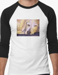 Let Sleeping Dogs Lie Men's Baseball ¾ T-Shirt
