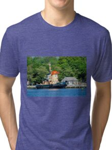 Visiting The Seaport Tri-blend T-Shirt